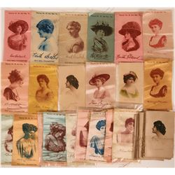 Group of 30 Cigarette Silks from Old Mill Cigarettes  (111609)
