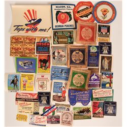 U.S. Sticker Collection for trunks, for celebrations, stamp edges on many   (115688)