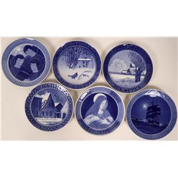 Royal Copenhagen -Christmas Plates (Blue) 1919-1924  (116246)