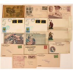 Postal Covers 1940's-1970's  (115189)