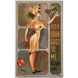 """You Look Good To Me, So I Don't Care"" Postcard By Artist Carmichael  (111637)"