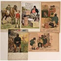 Antique Postcards by Artist Dudley, political cartoons, John Bullets  (115668)
