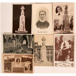 Beagles -Old Real Photo Postcards - Nurse Cavell - Edith Cavell Heroine of the Great War 1865-1915