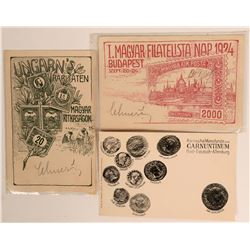 Coin and stamp Postcards foreign  (115665)