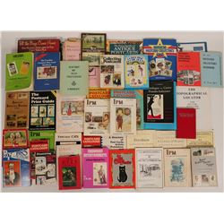 Collection of Postcard Guides, Catalogs, and Books for the Postal Enthusiast  (115428)