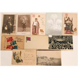 Post card group - Interesting Royalty and public about 10 cards  (115722)