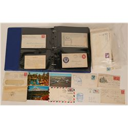 Fresno Postal History Collection Approx 100 envelops  (115429)