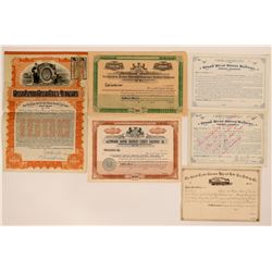 Michigan, Pennsylvania and Canadian RR stock.  (114496)