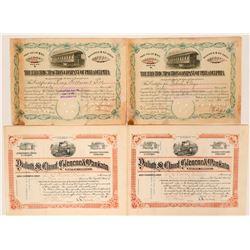 Minnesota and Pennsylvania RR stock  (115857)