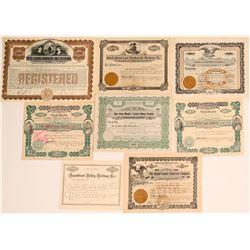 Southeastern States RR stocks  (114639)