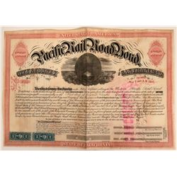 Western Pacific Railroad Bond  (115807)
