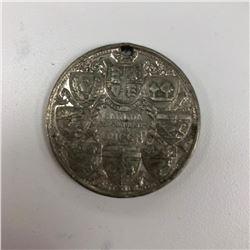 1897 Victoria Diamond Jubilee Celebration Coin