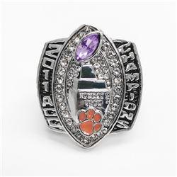 2011 Clemson Tigers NCAA Football ACC Championship Ring - Bobby Hutchinson