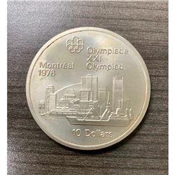 10 Dollars - Elizabeth II Montreal Skyline