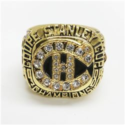 1986 Montreal Canadiens Stanley Cup Championship Ring - Patrick Roy