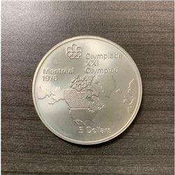 5 Dollars - Elizabeth II Map of North America