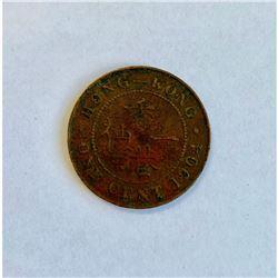 1904 Hong Kong 1 Cent - Edward VII