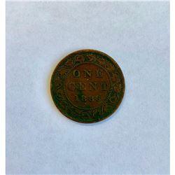 1886 Canadian LG Cent