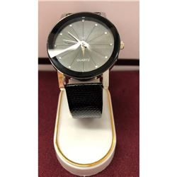 Large Quartz Stainless Steel Watch
