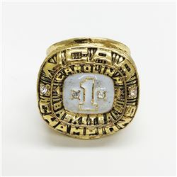 1982 North Carolina Tarheels NCAA ACC Championship Ring - Michael Jordan