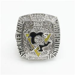 2009 Pittsburgh Penguins Stanley Cup Championship Ring - Sidney Crosby
