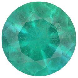 Natural Round Cut Green Emerald - Fine AA+ Grade - Zambia Mined