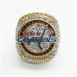 2018 Washingston Capitals Stanley Cup Championship Ring - Alexander Ovechkin