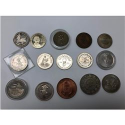 Lot Of 15 Canadian Memorial /Anniversary Coins