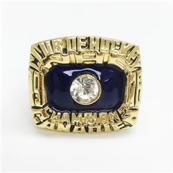 1976 Montreal Canadiens Stanley Cup Championship Ring - Guy Lafleur