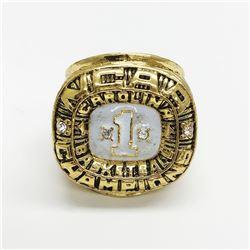1982 North Carolina Tarheels NCAA ACC Championship Ring - Michael Jordan