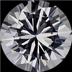 Natural Sri Lanka Extra Fine White Sapphire - Round Cut- AAA+ Grade