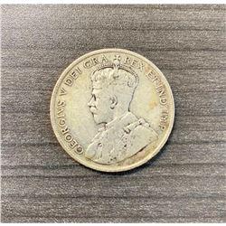 1918 Newfoundland 50 Cents - George V