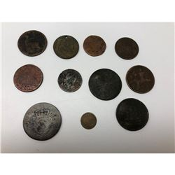 Lot Of 11 Assorted Coins