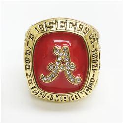 1999 Alabama Crimson Tide NCAA Football SEC Championship Ring - Orange Bowl