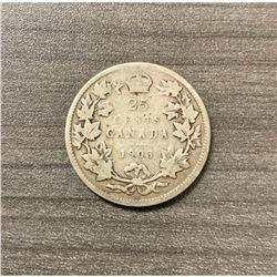 1903 25 Cents - Edward VII