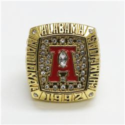 1992 Alabama Crimson Tide NCAA Football Sugar Bowl Champions - George Teague.