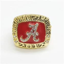 2012 Alabama Crimson Tide NCAA Football National Championship Ring