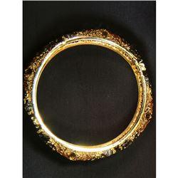 Beautiful, golden designer bracelet