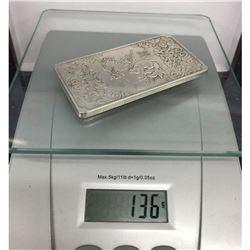 Asian Tibetan Silver Zodiac Bullion 136g