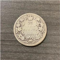 1905 25 Cents - Edward VII