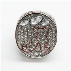 2012 Alabama Crimson Tide NCAA Football National Championship Ring - Nick Saban