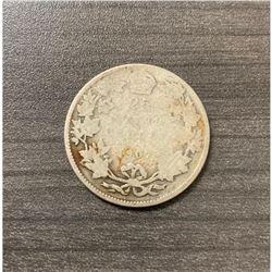 1907 25 Cents - Edward VII