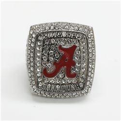 2015 Alabama Crimson Tide NCAA Football SEC National Championship Ring - Nick Saban