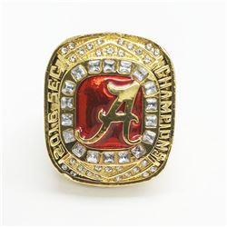 2016 Alabama Crimson Tide NCAA Football SEC Championship Ring - Jalen Hurts