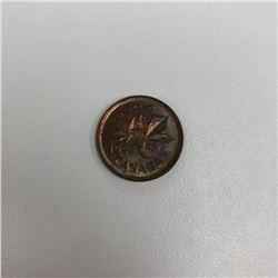 1943 George VI Canadian 1 Cent