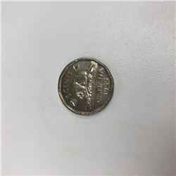 1955 Elizabeth II Canadian 5 Cent