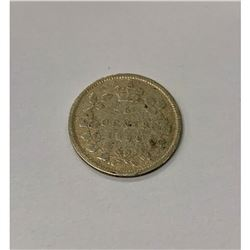 1896 Canadian Grade G 5 Cent Coin