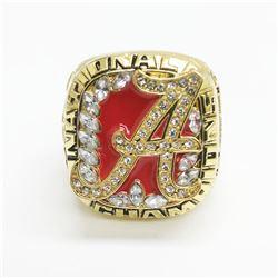 2009 Alabama Crimson Tide NCAA Football National Championship Ring- Nick Saban