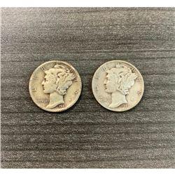 1942 United States Dime