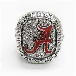 2015 Alabama Crimson Tide NCAA Football Championship Ring - Nick Saban